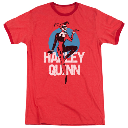 Harley Quinn Batman The Animated Series Ringer Tshirt