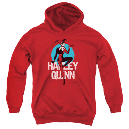 Harley Quinn Batman Animated Series Youth Hoodie