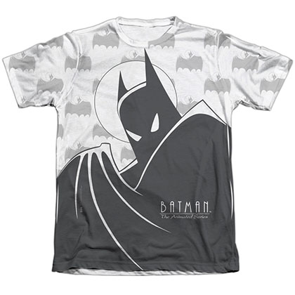 Batman Animated Series Cloaked Sublimation T-Shirt