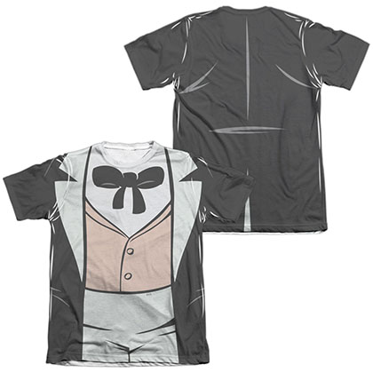 Batman Animated Series Penguin Costume Sublimation T-Shirt