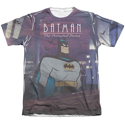 Batman Animated Series Pose Sublimation T-Shirt