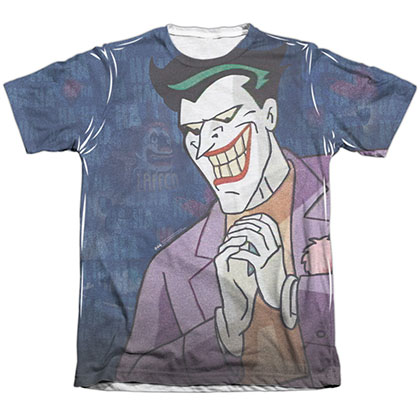 Batman Animated Series Joker Sublimation T-Shirt
