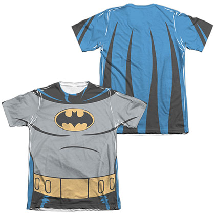 Batman Animated Series Costume Sublimation T-Shirt