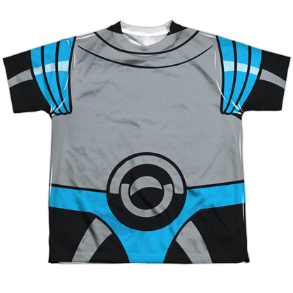 Mr Freeze Batman Villain Uniform Youth Costume Tee