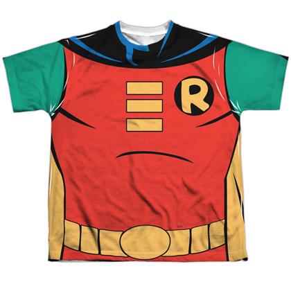 Robin Batman the Animated Series Youth Costume Tee