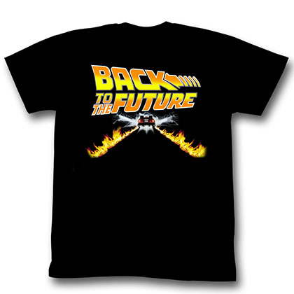 Back To The Future Btf Car T-Shirt