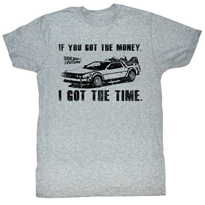 Back To The Future Got Da Money T-Shirt