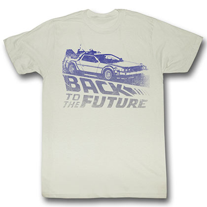 Back To The Future Future Fade T-Shirt
