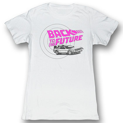 Back To The Future Checkers T-Shirt