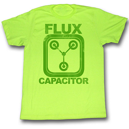 Back To The Future Neon Flux T-Shirt