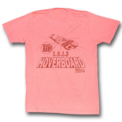 Back To The Future Hover Peach T-Shirt