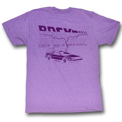 Back To The Future Future Purple T-Shirt
