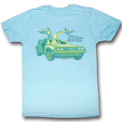 Back To The Future Delorean Chillin T-Shirt