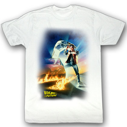 Back To The Future Btf Poster T-Shirt