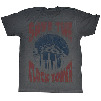 Back To The Future Saves The Day T-Shirt