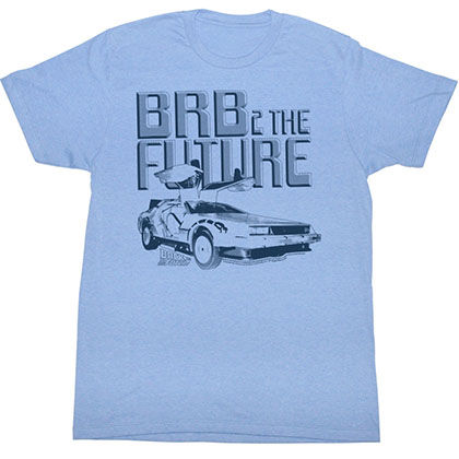 Back To The Future Brb6 T-Shirt