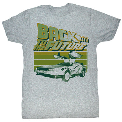 Back To The Future Green Flight T-Shirt