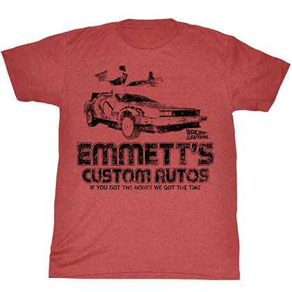 Back To The Future Emmett'S T-Shirt