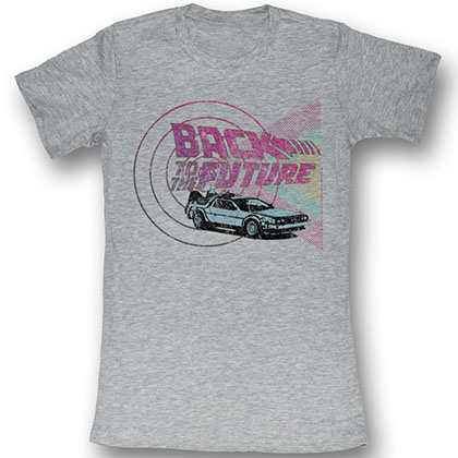Back To The Future Time Machines And Shapes T-Shirt