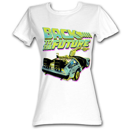 Back To The Future Btf Neon T-Shirt