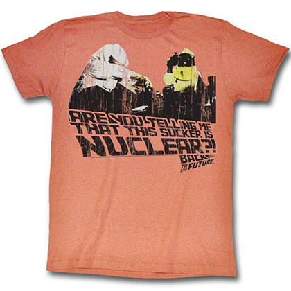 Back To The Future This Sucker Is Nuclear T-Shirt