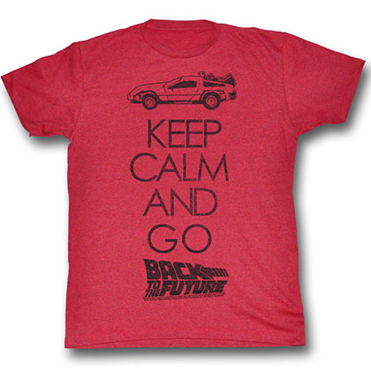 Back To The Future Keep Calm T-Shirt