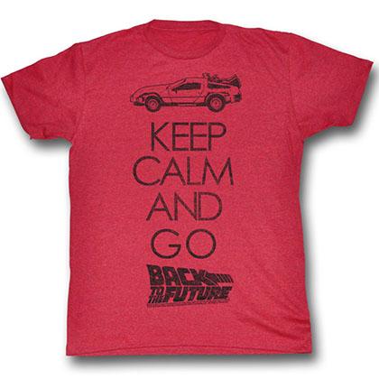 Back To The Future Keep Calm T-Shirt
