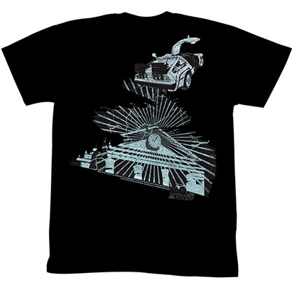Back To The Future The Clock Tower T-Shirt