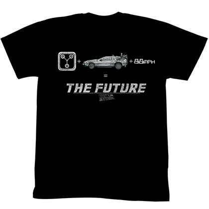 Back To The Future The Future T-Shirt