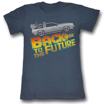 Back To The Future 8Bit To The Future T-Shirt