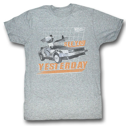Back To The Future See You T-Shirt