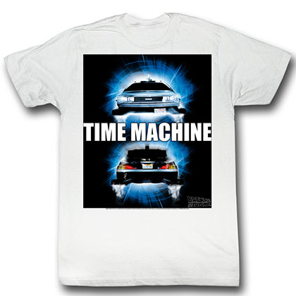 Back To The Future Time Travel T-Shirt