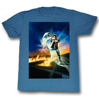 Back To The Future Go Go Go T-Shirt