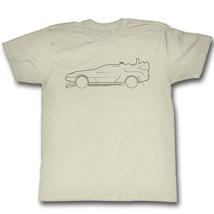 Back To The Future Lines T-Shirt