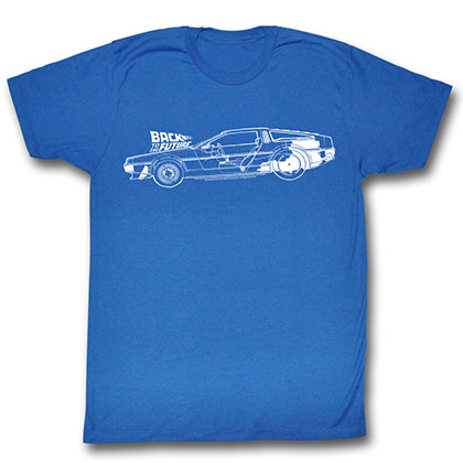 Back To The Future Schematics T-Shirt