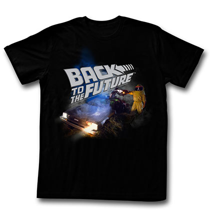 Back To The Future Smoky T-Shirt