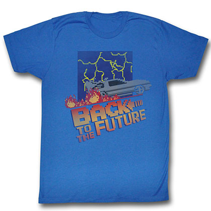 Back To The Future Nes Cover T-Shirt