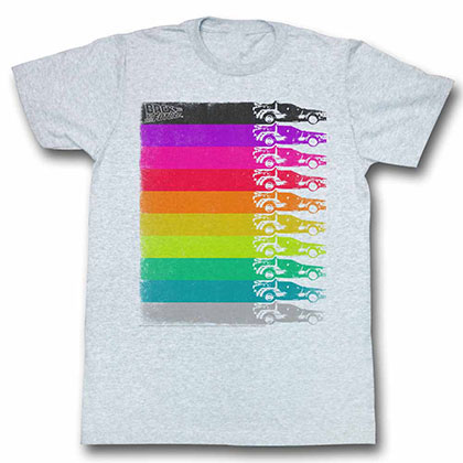 Back To The Future The Colors Duke White Tee Shirt