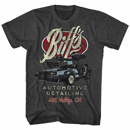 Back To The Future Biff's Black Tee Shirt