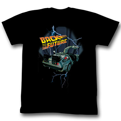 Back To The Future Lightning Car T-Shirt