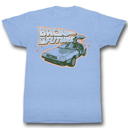 Back To The Future Blue And Orange T-Shirt
