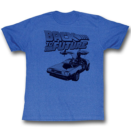 Back To The Future Btf Halftone T-Shirt