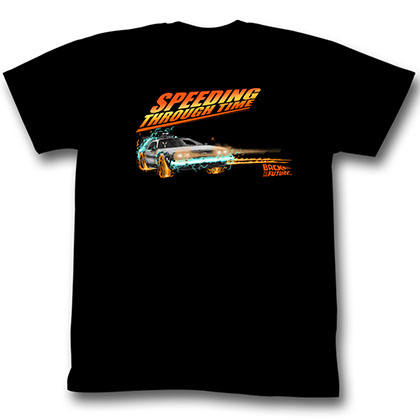 Back To The Future Drifting Thru Time 1 T-Shirt