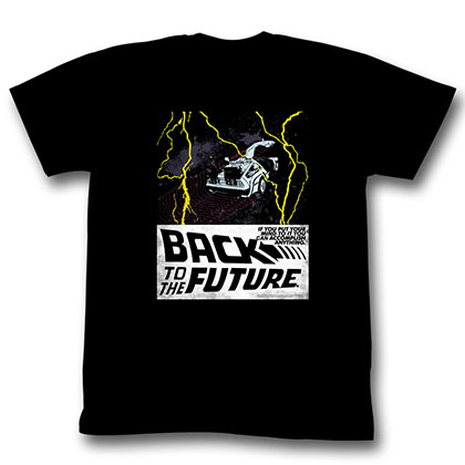 Back To The Future In Space T-Shirt