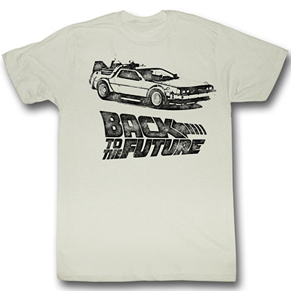 Back To The Future Dmc Ink T-Shirt
