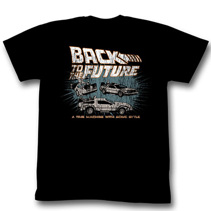 Back To The Future Cars T-Shirt