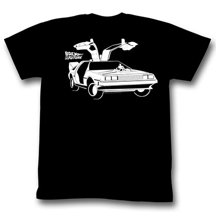 Back To The Future Car T-Shirt