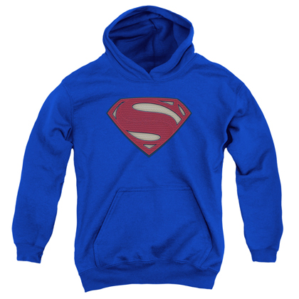 Superman Batman v Superman Logo Youth Hoodie