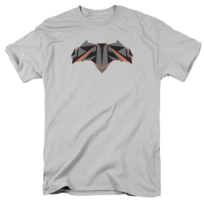 Batman v Superman Tech Bat Logo Gray T-Shirt