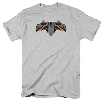 Batman v Superman Tech Bat Logo Gray T-Shirt